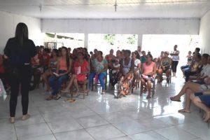 Manhuaçu: ESF de Santo Amaro realiza ação do Outubro Rosa