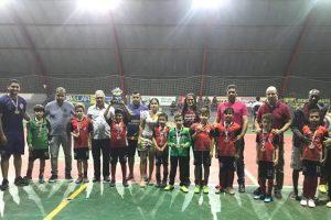 Sub-10 da UBA é vice-campeão da 1ª Copinha Nayná de Futsal