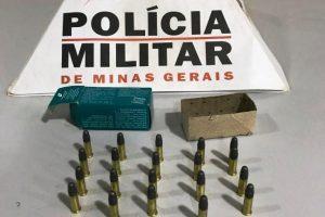 Lajinha: PM apreende munições durante abordagem em bar