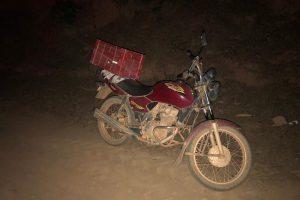 PM prende envolvidos em roubo de motocicleta