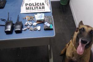 Manhuaçu: PM combate tráfico de drogas no bairro Santana