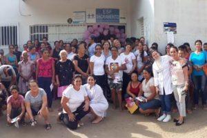 Manhuaçu: Mulheres de Sacramento participam do Outubro Rosa