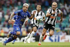 Atlético empata fora de casa com o Bahia