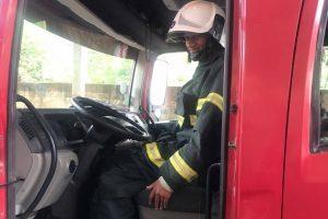 Jovem de Martins Soares é recebido pelo Corpo de Bombeiros