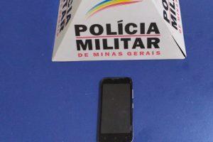 PM prende autora e recupera celular furtado no interior de agência bancária