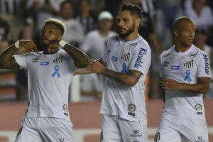 Cruzeiro é goleado pelo Santos: 4 a 1