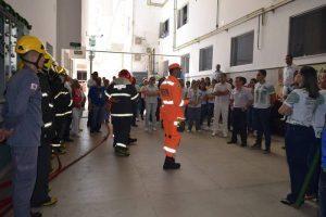 Manhuaçu: Bombeiros realizam simulação de evacuação no HCL