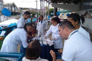 """Manhuaçu: Campanha """"Novembro Azul"""" é realizada na praça"""