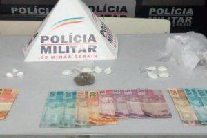 Alto Caparaó: PM prende quatro pessoas e apreende drogas