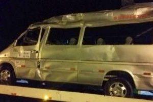 Matipó: Motorista de van morre em acidente na BR 262