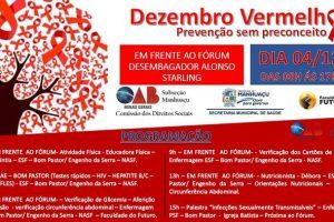 Dezembro Vermelho conscientiza sobre tratamento e prevenção ao HIV/Aids