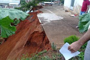 Trabalhos de limpeza e vistorias prosseguem em Manhuaçu