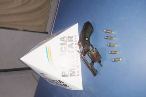 Manhuaçu: Menor é apreendido com revólver na cintura