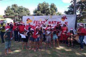 Natal é celebrado em família pelas equipes e pacientes CAPS Manhuaçu