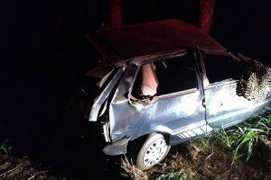 Jovem fica gravemente ferido em acidente na MG 111