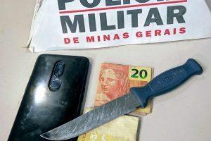 Manhuaçu: PM prende autoras e recupera material roubado