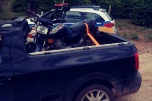 PM recupera veículo furtado em Matipó