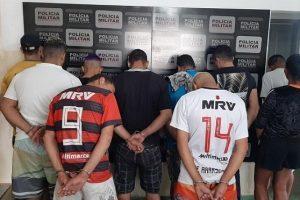 Operação da PM prende 14 pessoas em Manhuaçu, Manhumirim e Alto Jequitibá