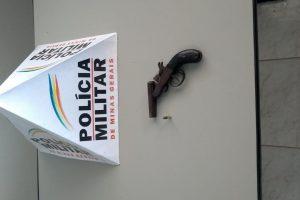 Sericita: PM apreende arma de fogo utilizada em ameaça