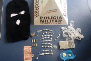 Com apoio da equipe ROCCA, PM apreende drogas no bairro Santana