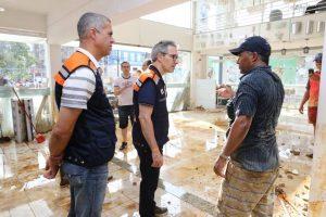 Pós enchente: Governo antecipa pagamento a prefeituras e linha de crédito para empresas