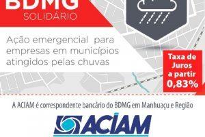 Pós enchente: ACIAM atende empresas com linha de crédito especial