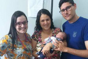 Benjamin é o primeiro bebê nascido no HCL em 2020