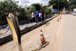 BR 262: DNIT faz vistorias em Manhuaçu e Reduto