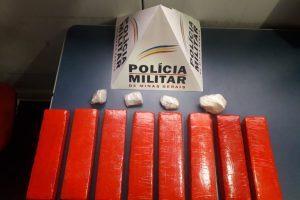 Manhuaçu: PM apreende mais drogas no bairro São Francisco de Assis