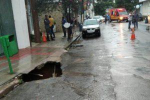 Manhuaçu: Parte da rua Monsenhor Gonzalez está interditada