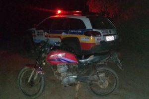 Reduto: PM prende autor de receptação e recupera motocicleta
