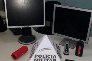 Caparaó: PM prende autor e recupera material furtado