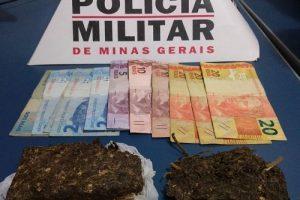 Manhuaçu: Menores tentam fugir, mas são apreendidos com drogas
