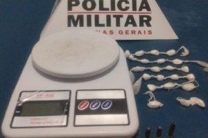 Manhuaçu: PM através de denúncia apreende drogas e munições
