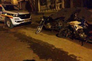 PM recupera moto e peças produtos de furto no Bom Jardim