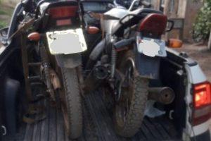 Manhuaçu: PM recupera motocicletas furtadas
