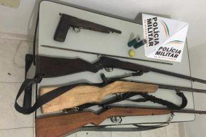 Sericita: Denunciado entrega 4 armas de fogo à polícia