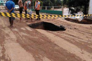 Manhuaçu: Ponte liberada no Engenho da Serra