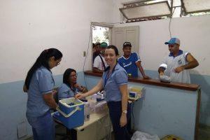 Manhuaçu: Saúde vacinas funcionários contra tétano