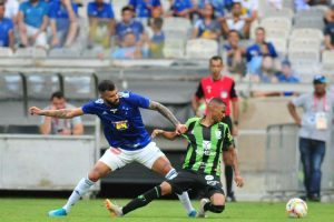 Cruzeiro e América ficam no empate de 1 a 1