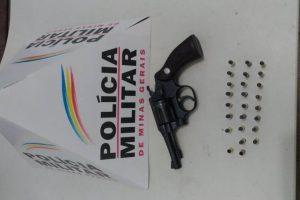 Manhuaçu: Arma é apreendida na zona de Vilanova