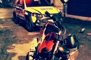 PM apreende menor por tentativa de furto de motocicleta