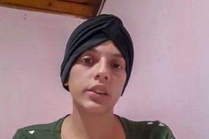 Vítima de câncer, jovem pede ajuda para tratamento