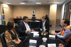 Brasília: Prefeita Cici se reúne com ministro do Desenvolvimento Regional