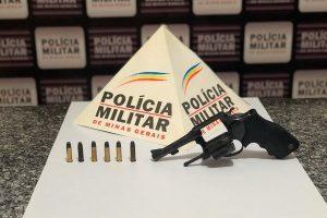 Mutum: PM apreende arma de fogo