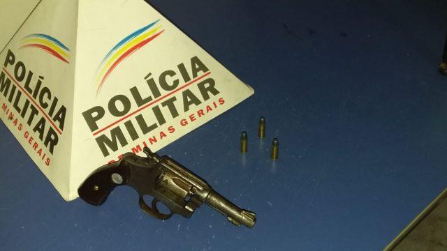 Reduto: PM apreende arma de fogo com menor