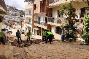 Recuperação da cidade segue sendo realizada pela Prefeitura