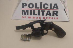 São João do Manhuaçu: Arma de fogo é apreendida pela PM