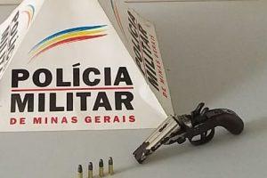 Simonésia: PM apreende duas armas de fogo