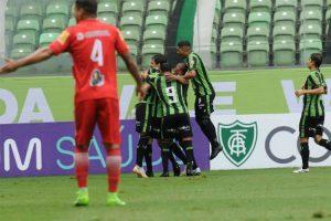 América vence e assume a liderança do Mineiro